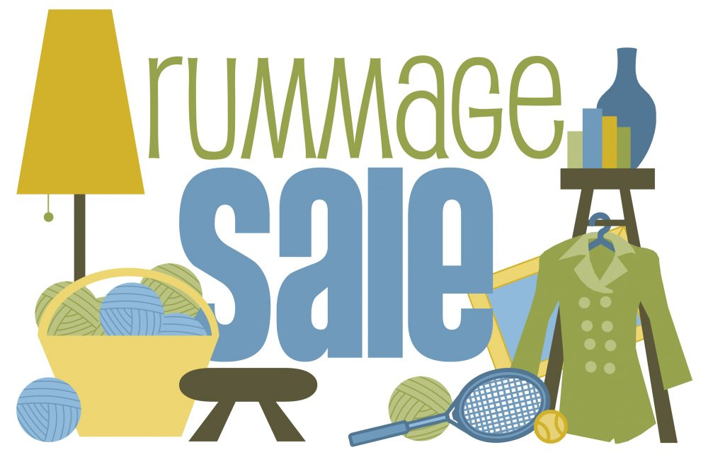 Friday Spring Rummage Sale
