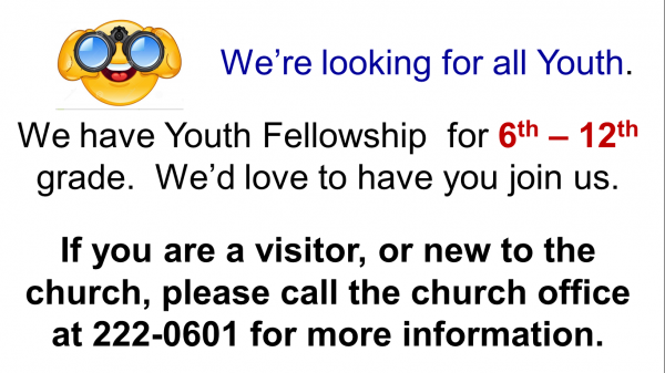 Looking for Youth